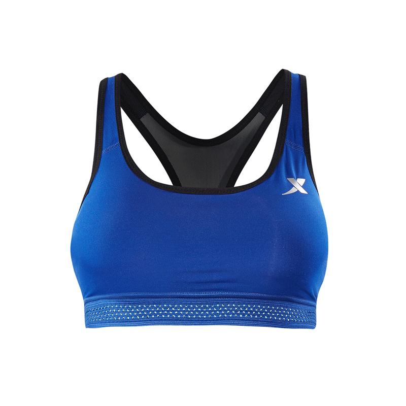 特步 专柜款 女子运动胸衣夏季新款跑步文胸女子训练健身跳舞运动背心982228590041