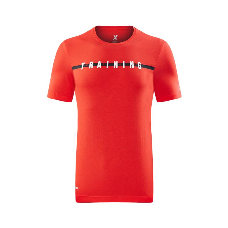 特步 专柜款 男短袖针织衫2018夏季新款圆领套头轻便舒适运动T恤982229012057