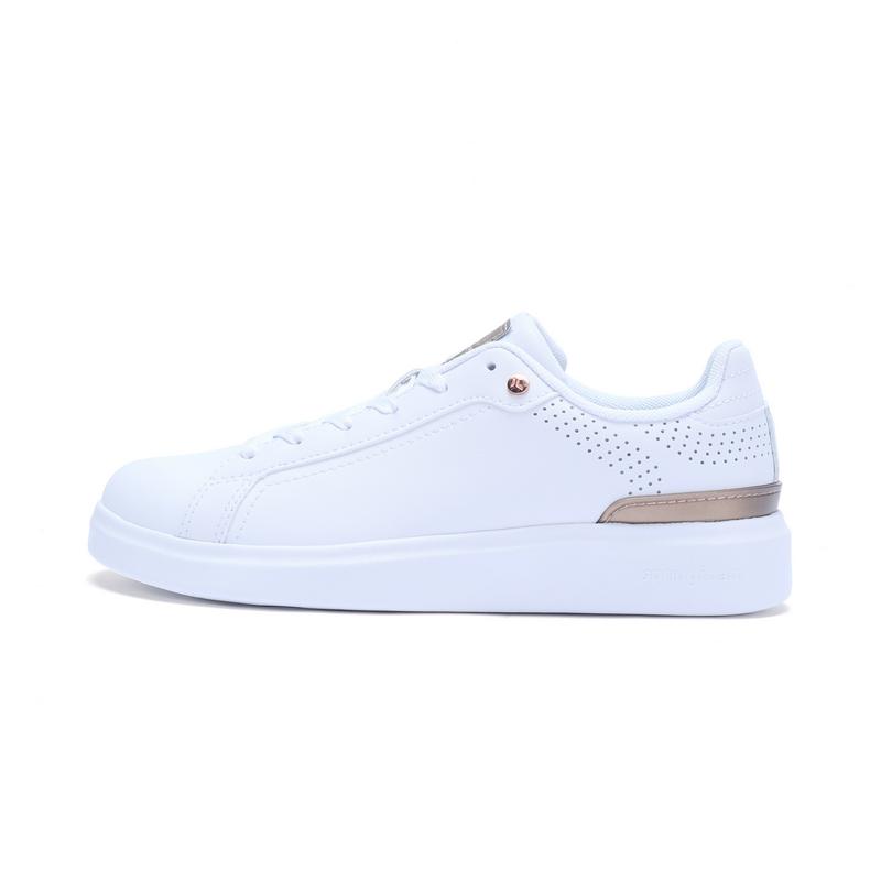 特步 专柜款 女子春季板鞋 简约百搭女鞋982118315768