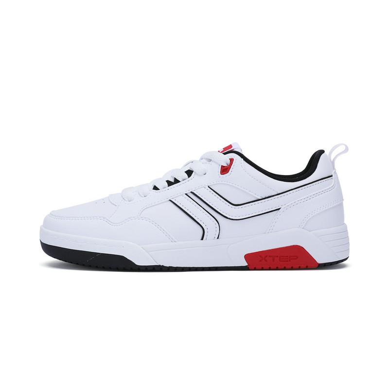 特步 专柜款 男子冬季板鞋 柔软垫舒适π系列板鞋男鞋983419315735