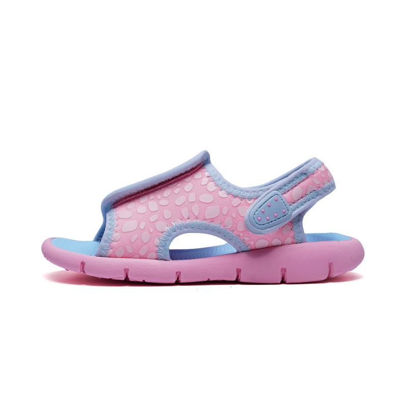 特步  女童沙滩鞋   舒适休闲凉鞋682214509691