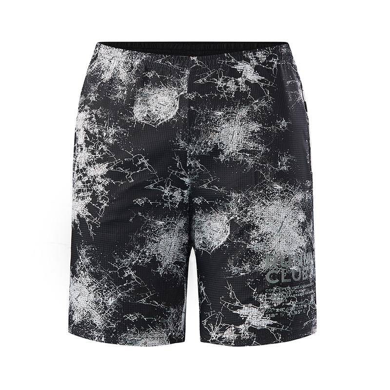 特步 专柜款 男子跑步短裤 透气梭织运动男裤982229240110