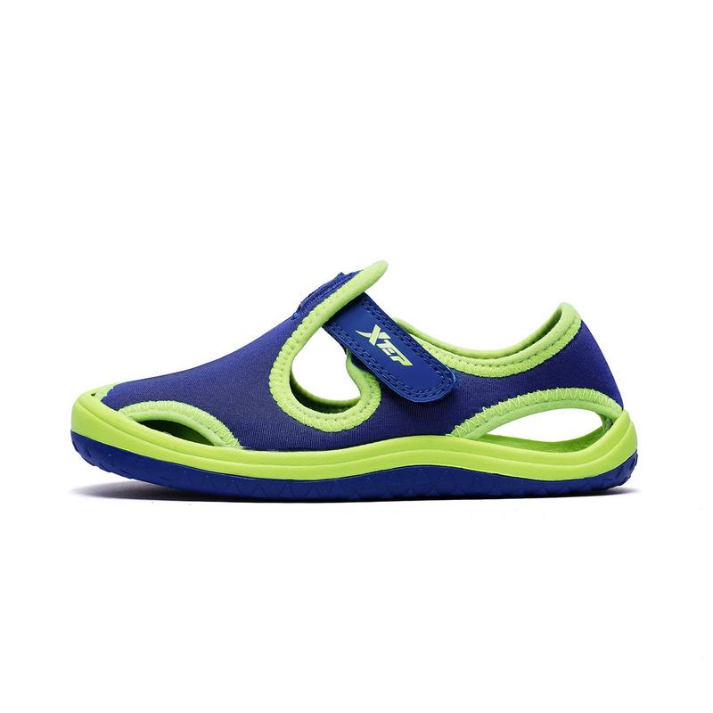 特步  男女童沙滩鞋   夏季舒适休闲凉鞋682216509692