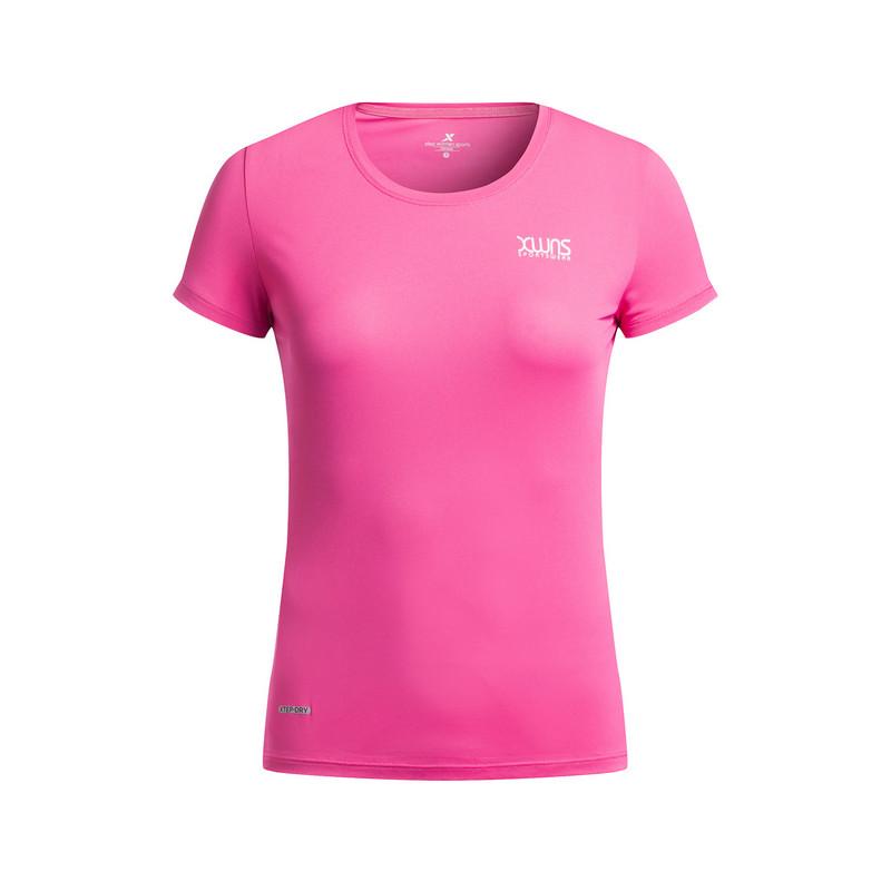 特步 专柜款 女子夏季运动T恤983228011795