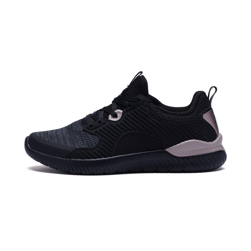 特步 专柜款 女子春季跑鞋 柔软舒适运动鞋982118116861