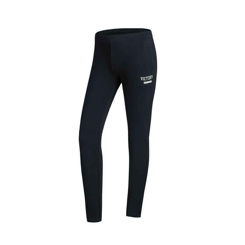 特步 专柜款 女子秋季针织长裤 新品校园休闲舒适长裤983328631152