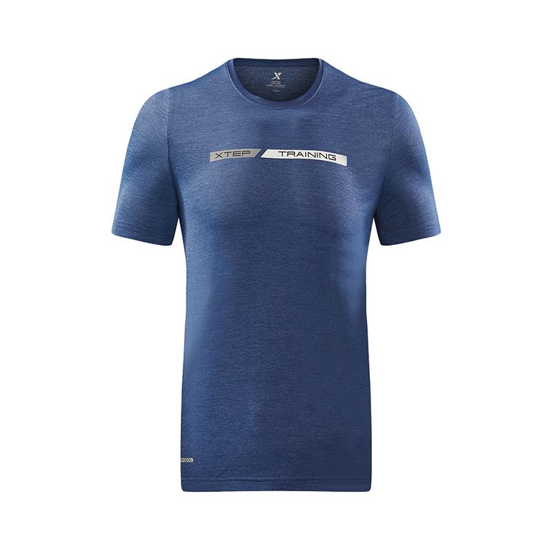 【专柜同款】特步 专柜款 男子综训T恤 运动健身男装982229012306