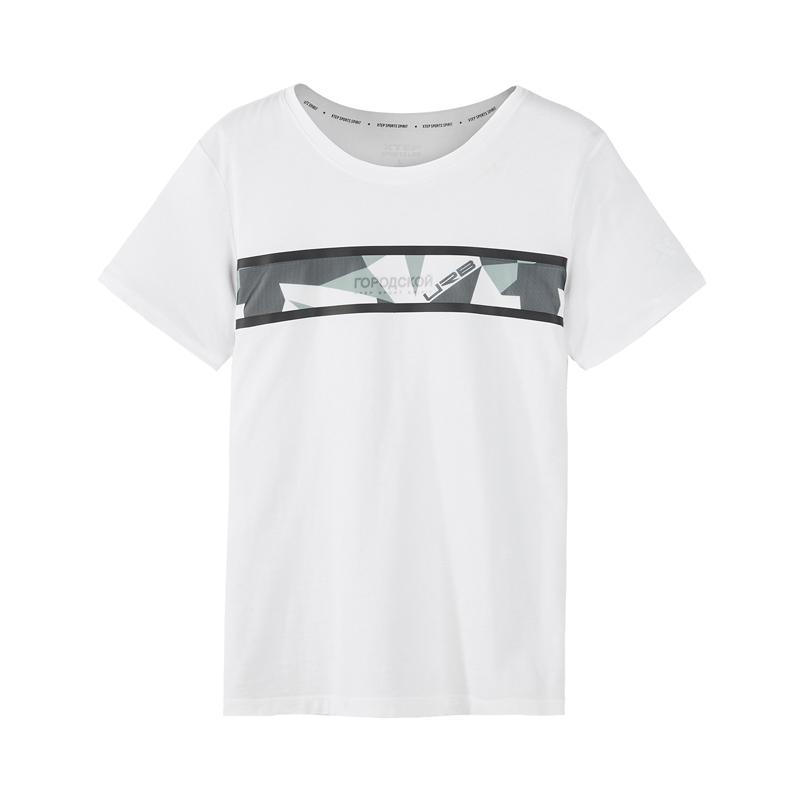 【2件99】特步 专柜款 男子新款夏季舒适休闲时尚T恤982229012228