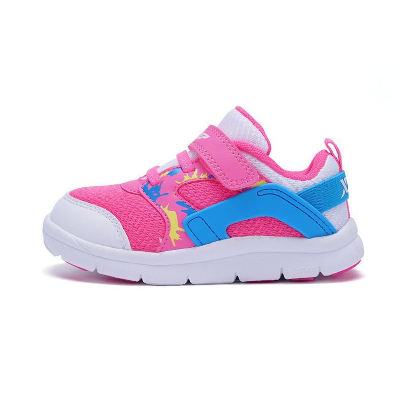 特步 专柜款 男女童健康鞋 舒适透气鞋子682116612217