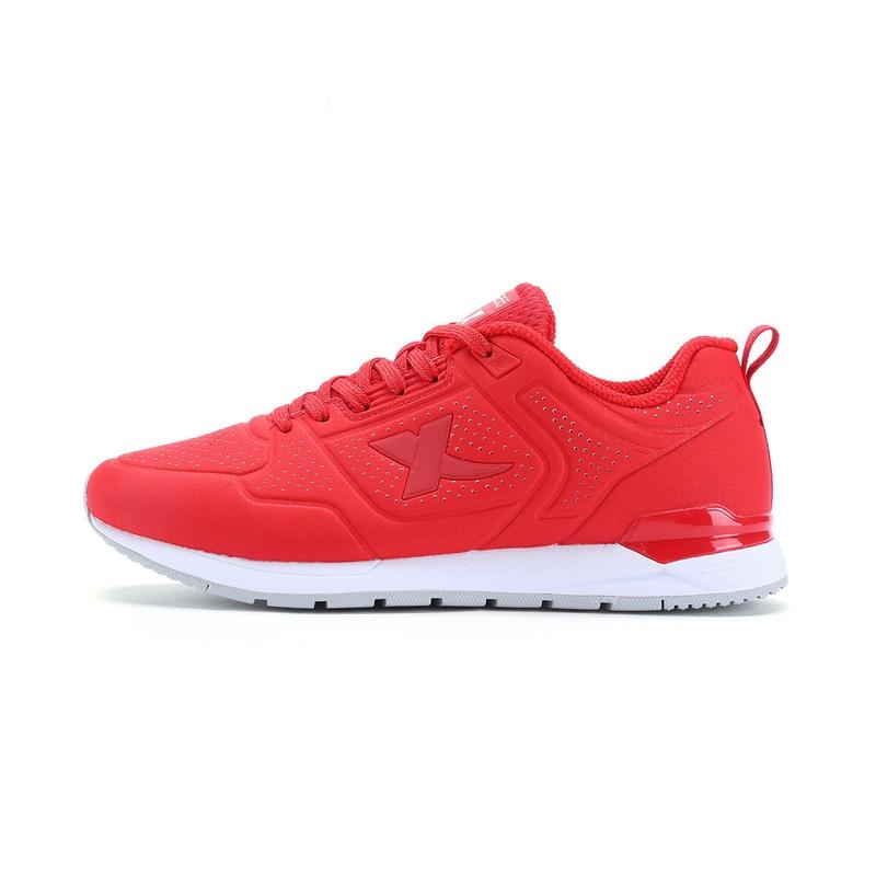 特步 专柜款   女子春季休闲鞋新款纯色百搭休闲鞋983118325910