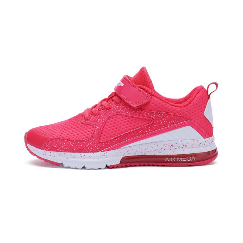 特步 专柜款 女童春季跑鞋 气垫学生运动鞋682114115156