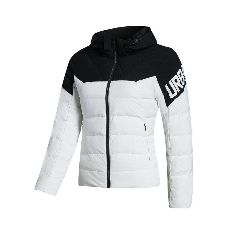 特步 专柜款 女子羽绒服  都市保暖时尚外套983428190684