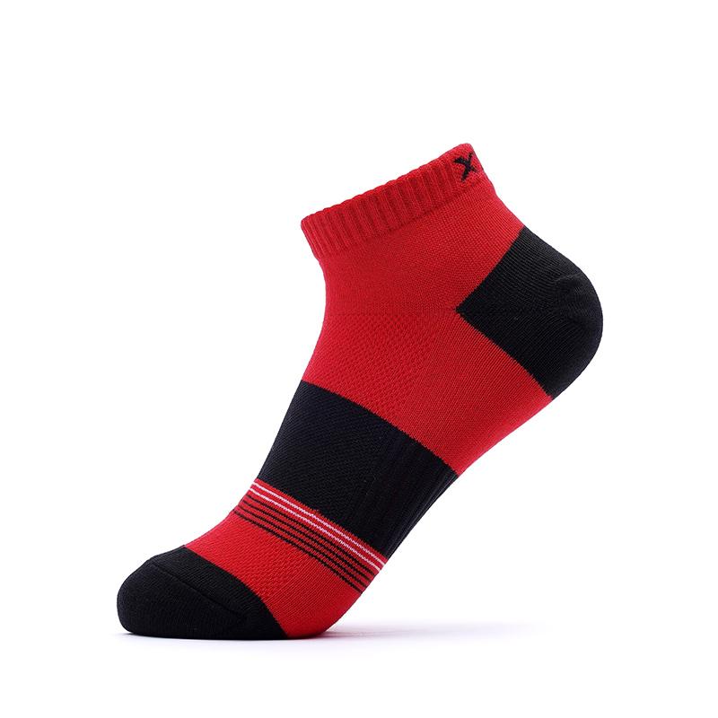 特步 男子混色五双装短袜 情侣款袜子【特殊商品不支持退换货】882139549092