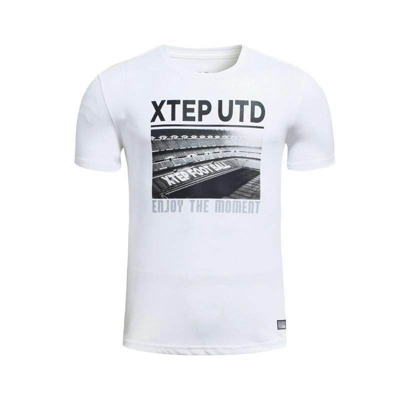 特步 专柜款 男子足球T恤 运动足球T恤983229011680
