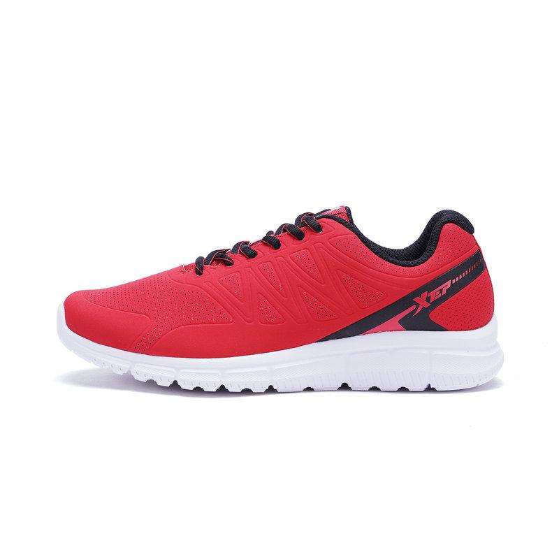 特步 专柜款 男子春季跑步鞋 透气舒适男鞋982119110053