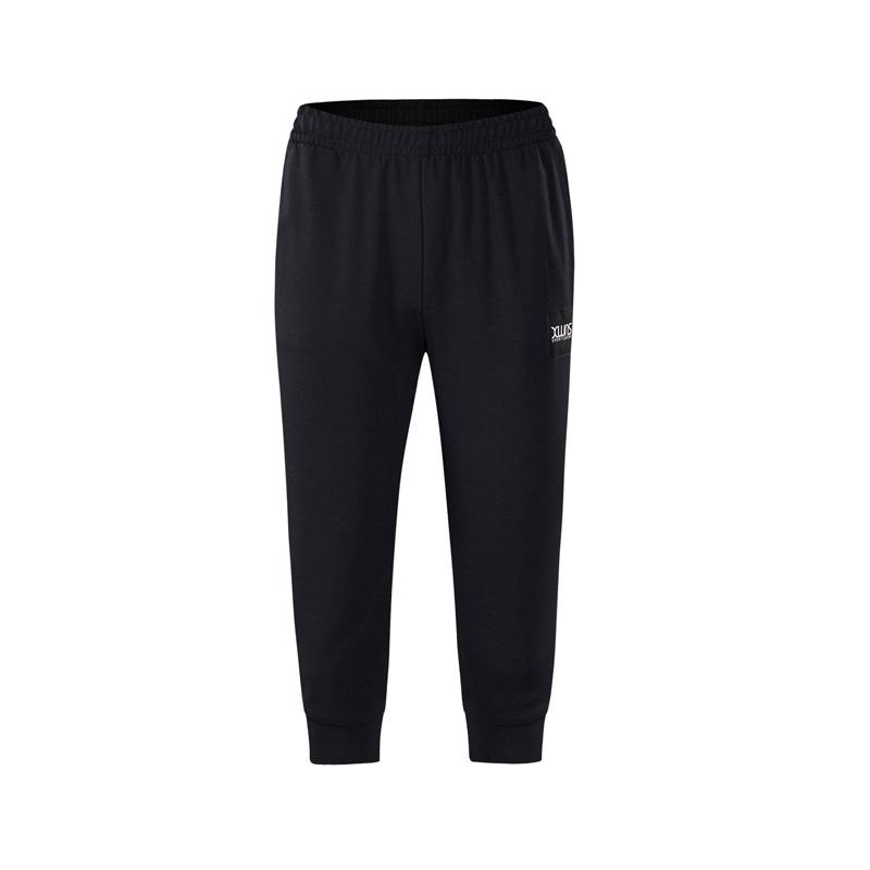 特步 专柜款 女子七分裤夏季新款舒适休闲裤运动裤舒适修身982228620245