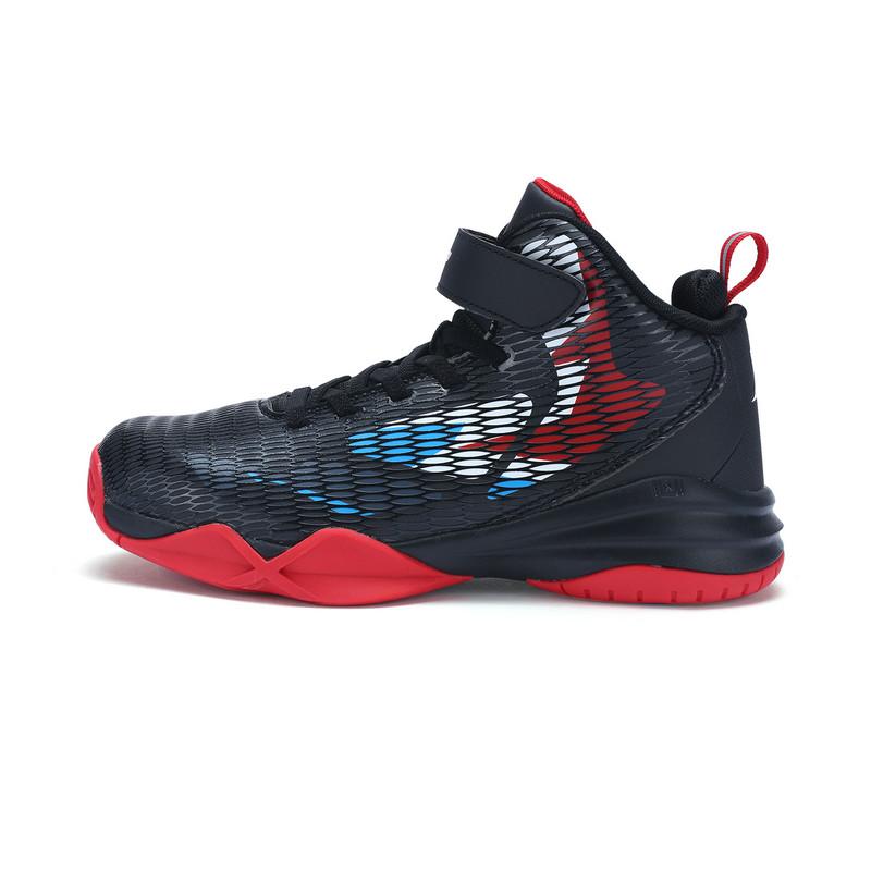 特步 专柜款 男童篮球鞋冬季款 耐磨防滑大童运动鞋683415125108