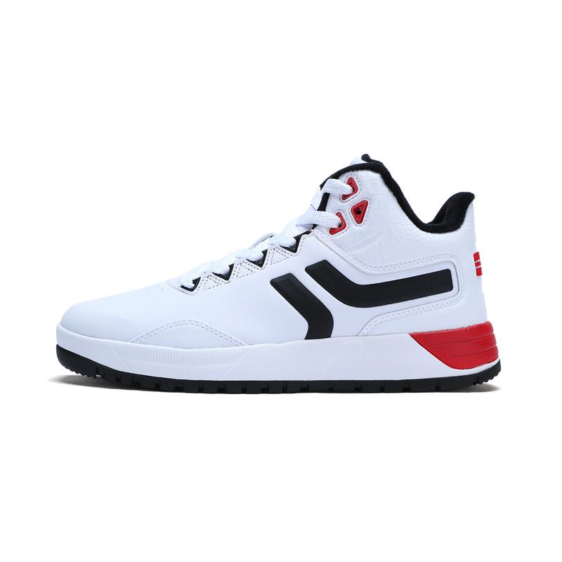 特步 专柜款 男子棉鞋 冬季新品 保暖舒适高帮板鞋983419370951