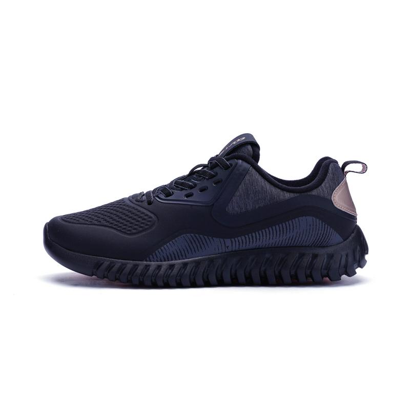特步 专柜款 女子冬季跑鞋 柔立方柔软垫舒适跑步鞋运动鞋983418116786