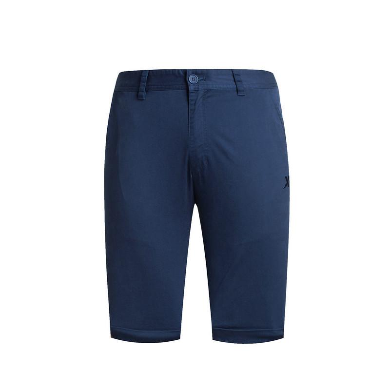 特步 专柜款 男子夏季五分裤  休闲舒适男短裤983229990004