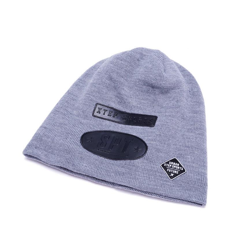 特步 男女冬季针织帽 时尚百搭潮流中性针织帽子883437229041