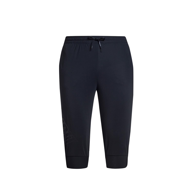 特步 专柜款 男子夏季七分裤 17新品休闲针织七分裤983229620215