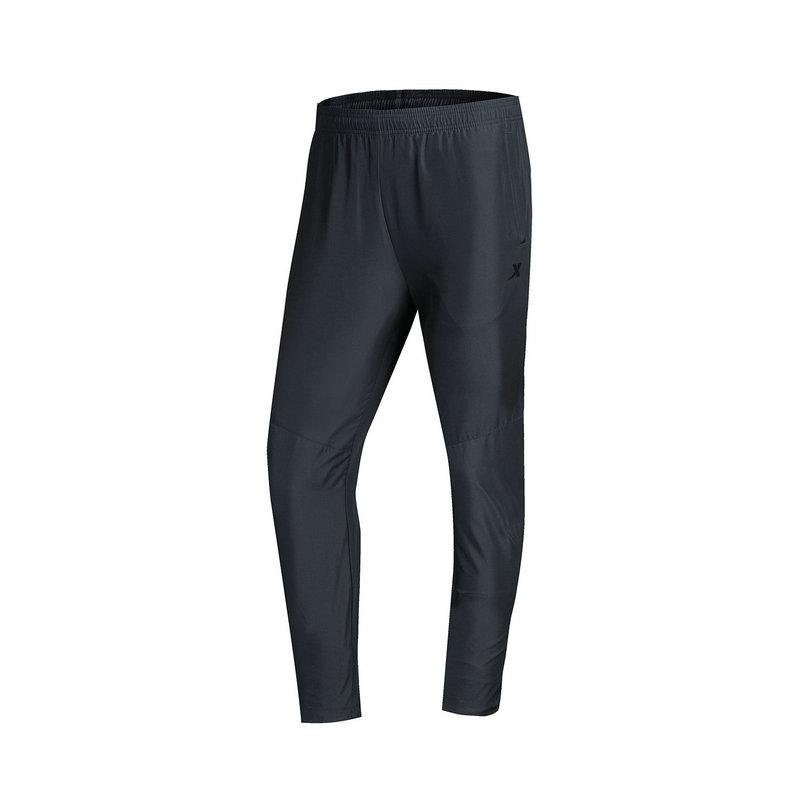 特步 专柜款 男子运动长裤 秋季新品 综训系列健身透气梭织长裤983329980076