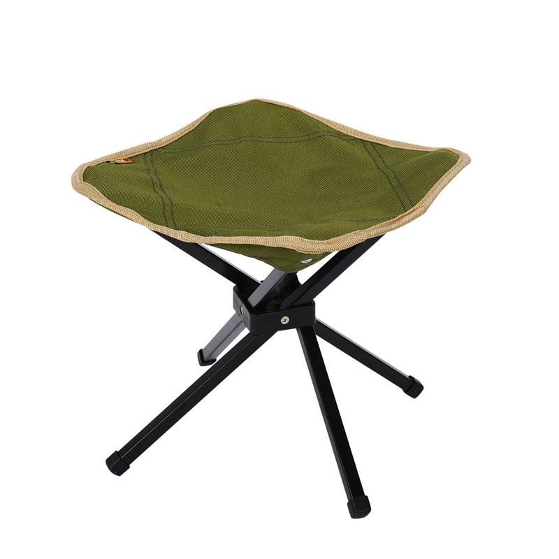 特步 户外折叠凳子 便携户外马扎 可折叠钓鱼椅子四角凳 承重80KG985137Z89042