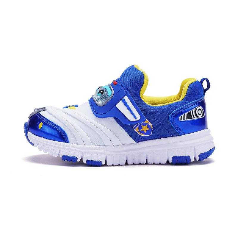 特步 专柜款 男童春季健康鞋 超级飞侠包警长联名款682115613761