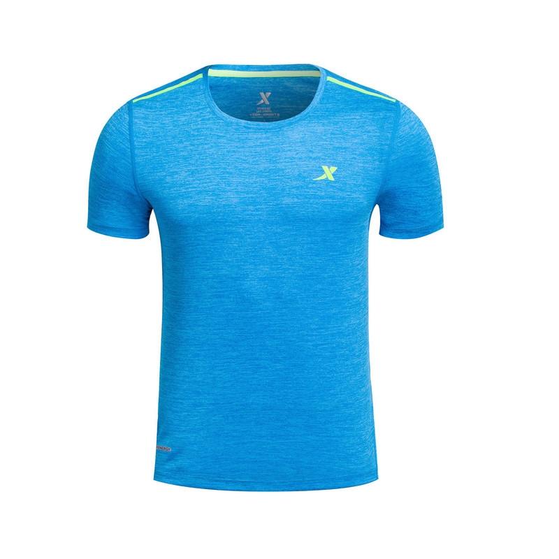 【明星同款】特步 专柜款 男子夏季T恤 陈定明星款运动健身短袖针织衫983229011757