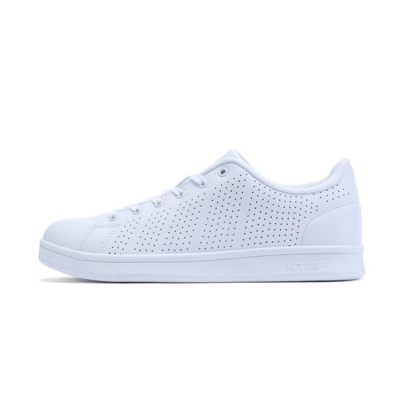 特步 专柜款 女子夏季板鞋 甜美女鞋982218315856