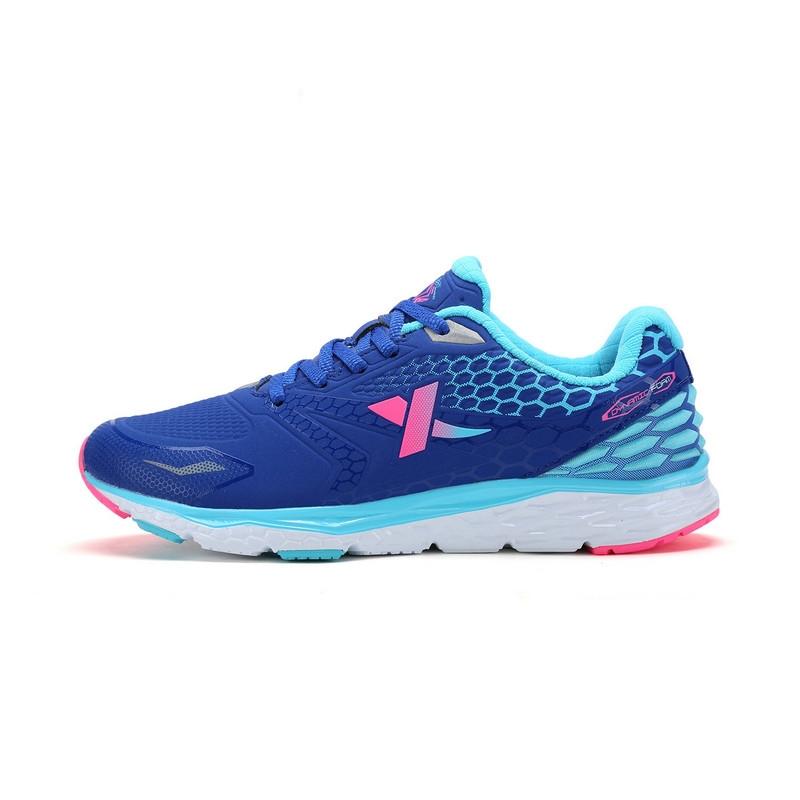 特步 专柜款   冬季女子跑步鞋 缓震耐磨女子运动鞋984418116179