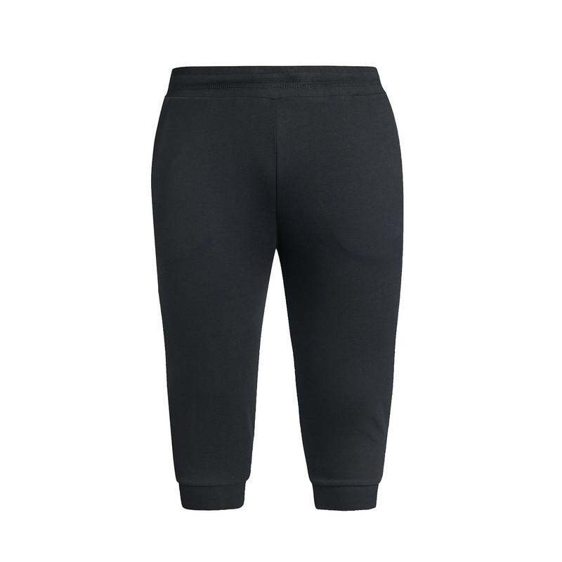 特步 专柜款 夏季男子七分裤 舒适透气针织七分裤983229620213