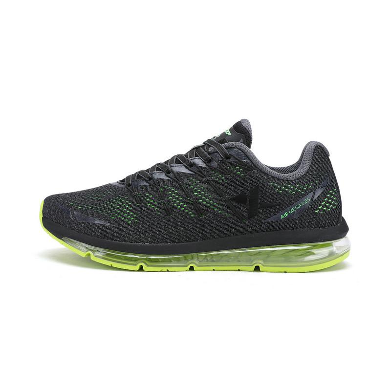 特步 专柜款   男子春季跑鞋 气能环气垫缓震跑鞋983119116235