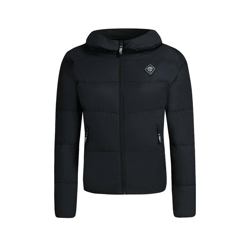 特步 专柜款 女子厚棉服 都市保暖外套983428180929