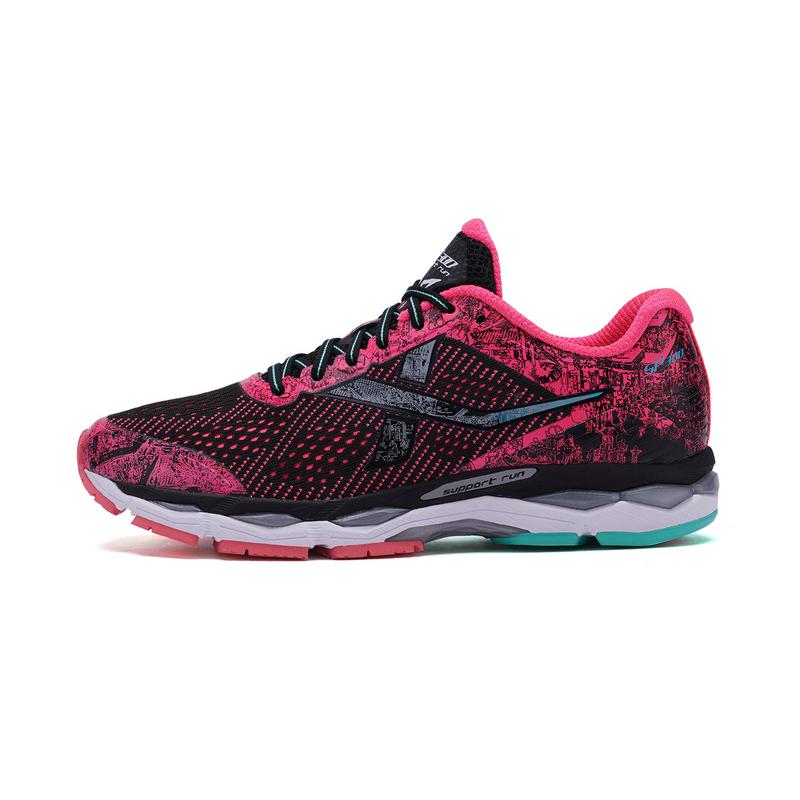 特步 女子春季马拉松跑鞋竞训300专业跑步鞋982118116696
