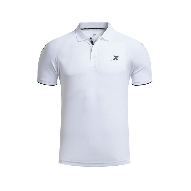 特步 专柜款 男子夏季POLO衫 17新品 休闲舒适透气男上衣983229020997