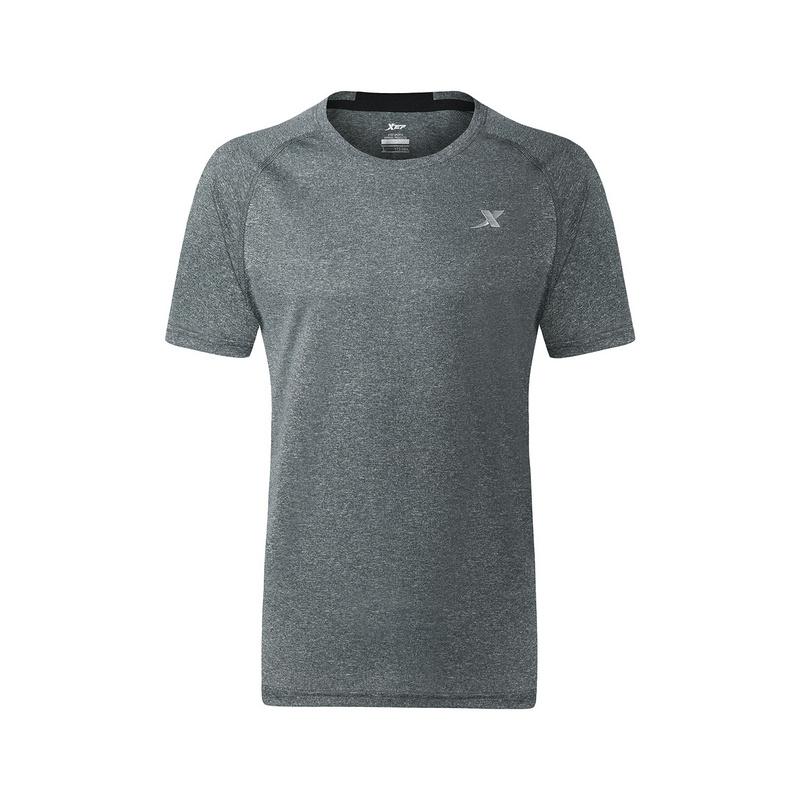 特步 男子运动T恤 短袖运动休闲基础款健身882229019128