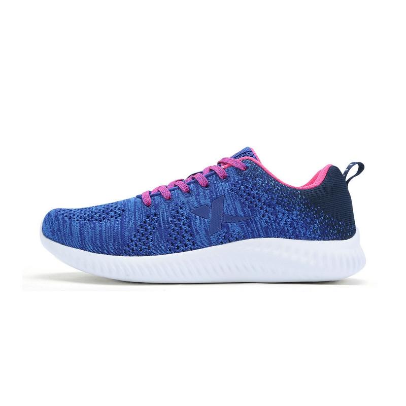 特步 专柜款 女子夏日跑步鞋   新款轻便透气网面运动鞋 女子休闲跑步鞋983218116320
