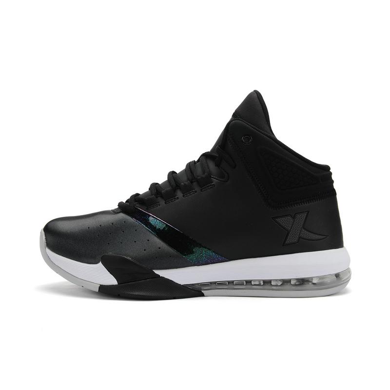 特步 专柜款   秋冬新款男子篮球鞋 舒适运动鞋984419120905