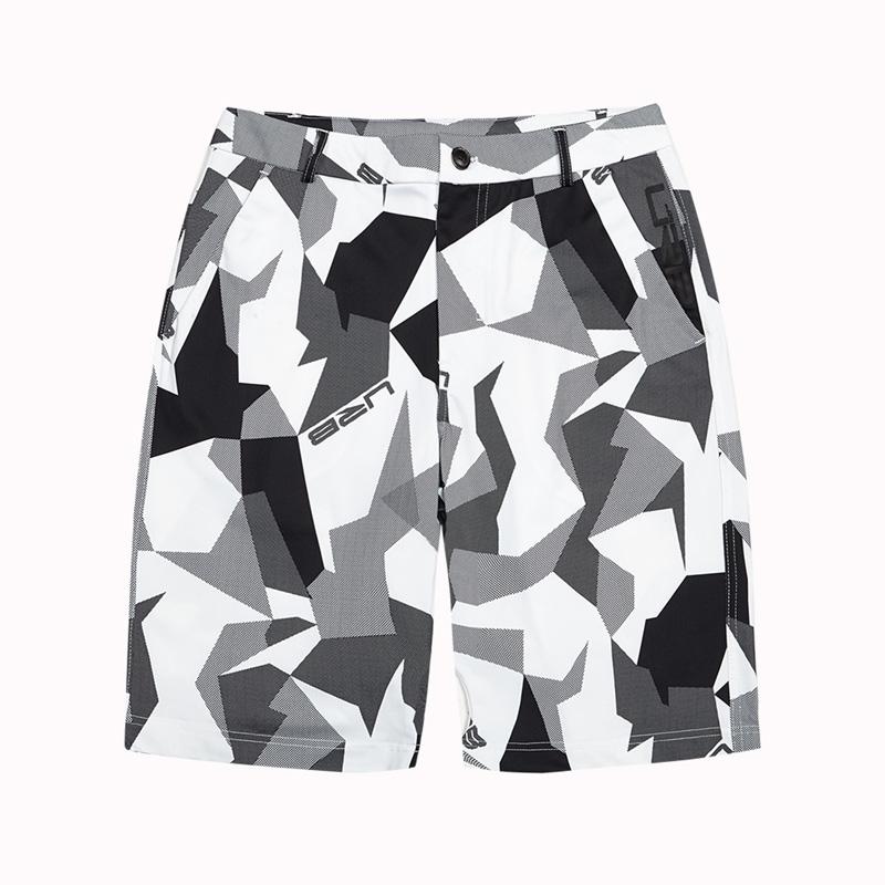 特步 专柜款 男子夏季运动中裤休闲时尚舒适运动裤982229610181