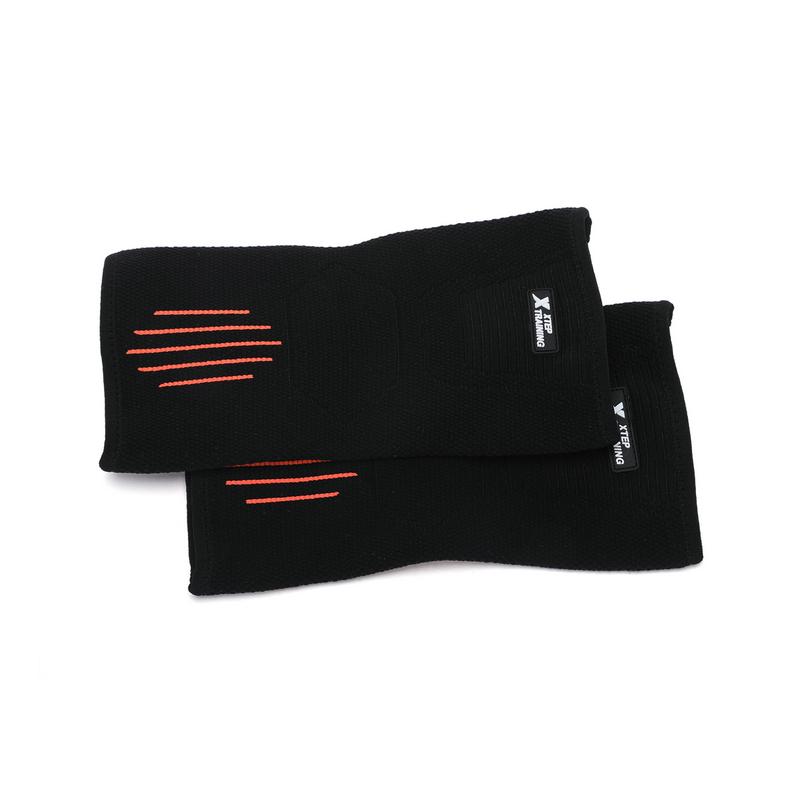 特步 男女运动护具 2只装 篮球羽毛球健身护臂肘 关节护具装备882237329059