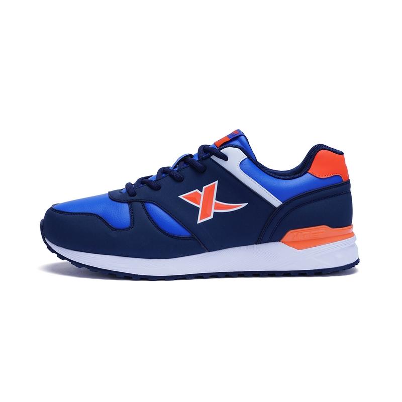 特步 专柜款  冬季加绒男跑鞋 时尚舒适运动鞋 男子运动鞋985419119907