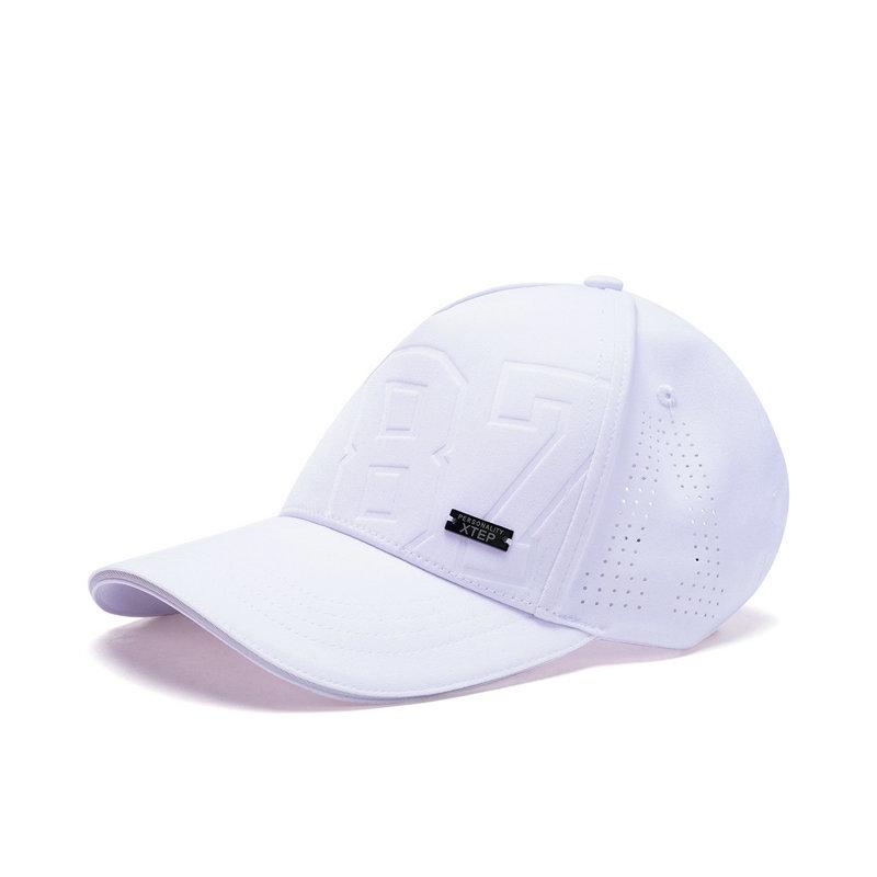 特步 男女运动帽 时尚搭配街头风纯色潮流帽882137219003