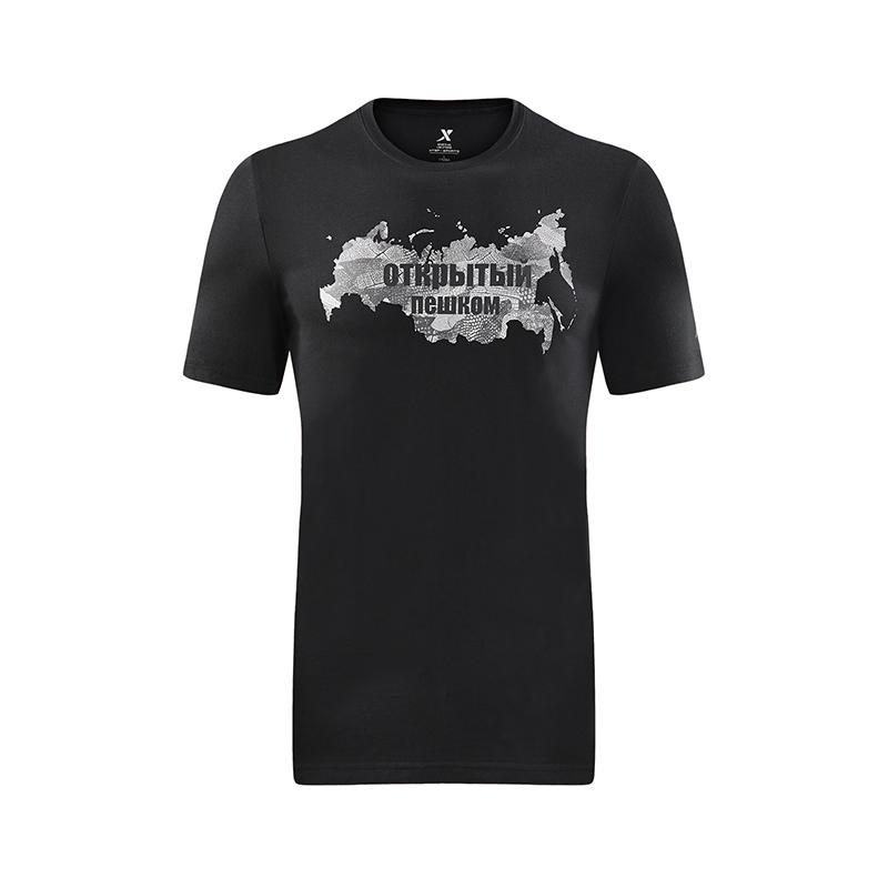 【明星同款】特步 专柜款 男子户外T恤 运动T恤982229012047