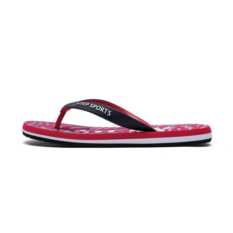特步  男士运动拖鞋   夏季潮流舒适鞋子882239809019