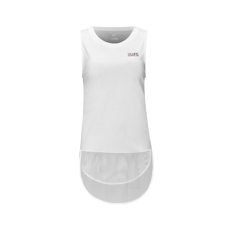 特步 女子运动背心 长款透气运动背心882228019170