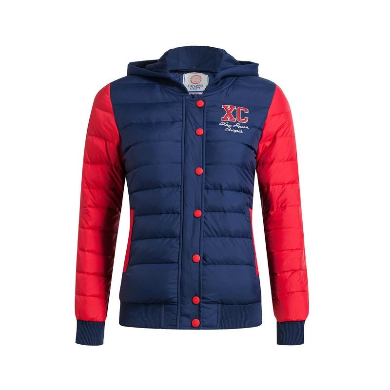 特步 专柜款  女羽绒服冬季新品 青春时尚保暖舒适女外套984428190545