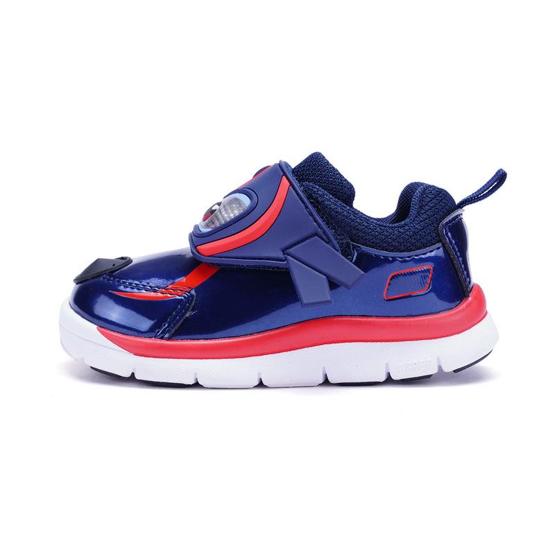特步 专柜款 男童春季健康鞋 超级飞侠男女童运动鞋小童宝宝鞋682115612765