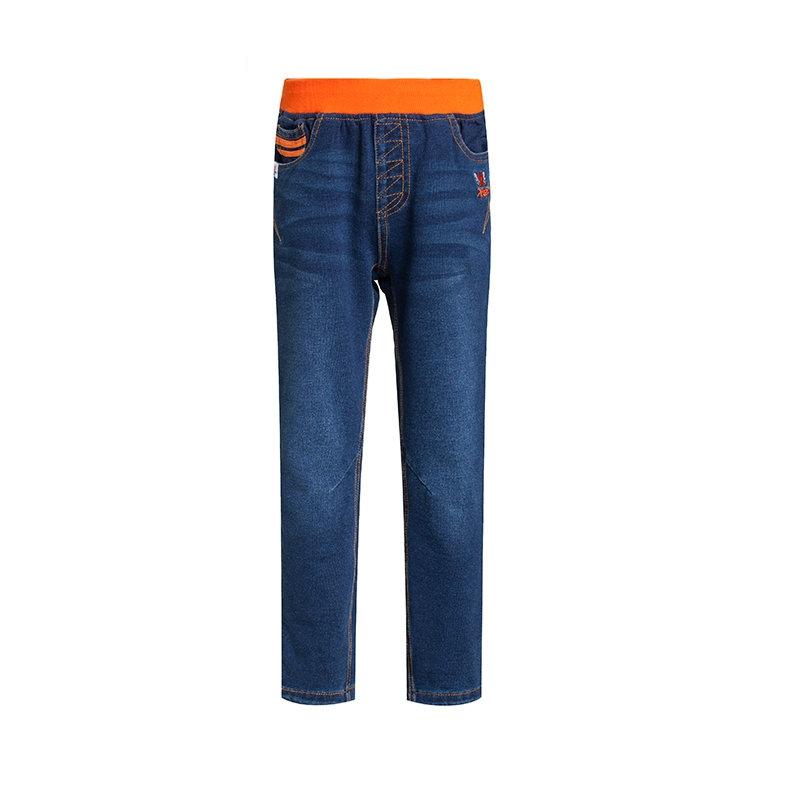 特步 专柜 大童儿童秋季长裤 柔软舒适 男童针织长裤685325630185